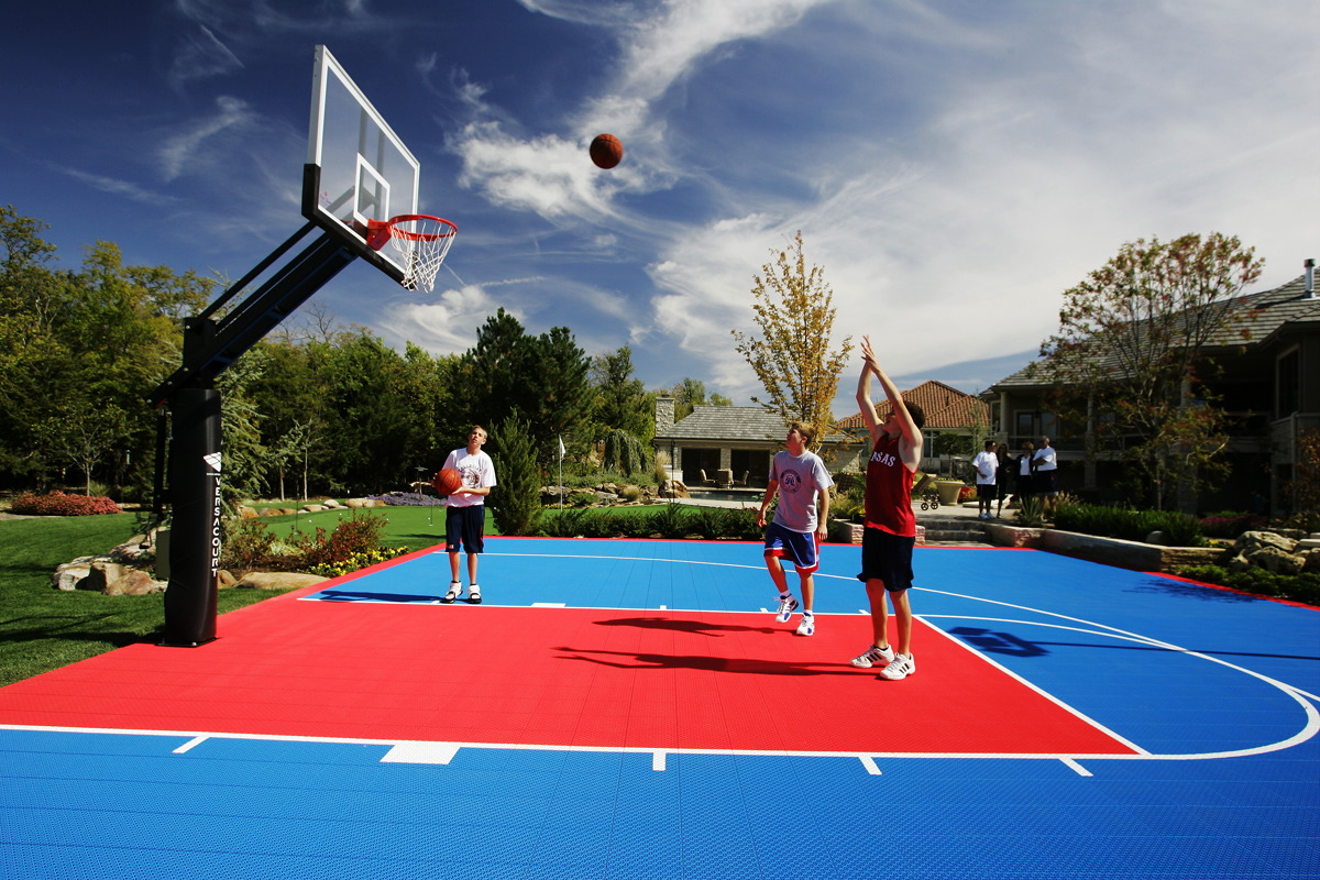 Basketball Goal System Sale Installation Available In